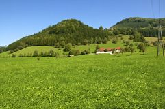 Landscape in Upper Austria Stock Photo
