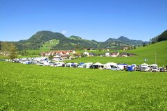Landscape in Upper Austria Stock Images