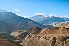 Landscape of Upper Mustang Stock Images