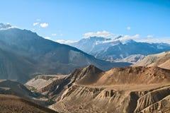 Landscape of Upper Mustang Stock Images