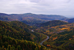 Landscape .Ural mountains. Stock Photography