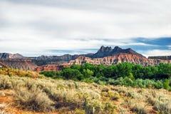 Landscape of Utah state. USA Royalty Free Stock Photo
