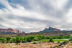 Landscape of Utah state. USA Royalty Free Stock Photos