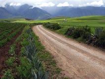 landscape vägspolningen Royaltyfri Bild
