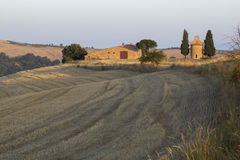 Landscape of val d orcia Royalty Free Stock Photo
