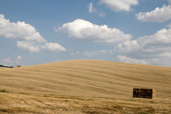 Landscape of val d orcia stock photo