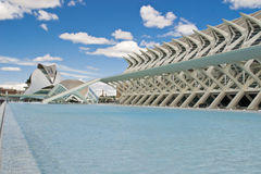 Landscape of Valencia landmark Stock Photography