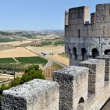 Landscape of Valladolid Province Royalty Free Stock Photo