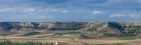 Landscape of Valladolid Province Royalty Free Stock Images