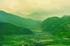Landscape valley Royalty Free Stock Photography