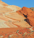 Landscape -Valley of Fire  Royalty Free Stock Photos