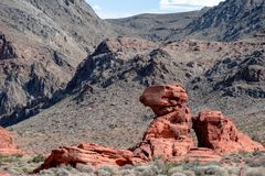 Valley of Fire - Nevada 2018 stock images