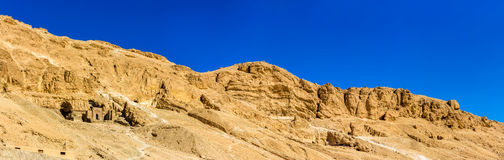 Landscape of the Valley of the Kings Royalty Free Stock Photography