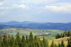 Landscape of the valley Royalty Free Stock Image