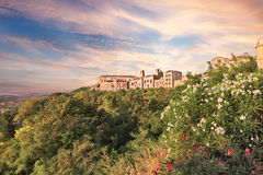 Landscape of Vasto in Abruzzo, Italy Royalty Free Stock Photography