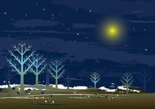 Landscape, vector royalty free illustration