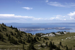 Landscape of the Velebit National Park Stock Images