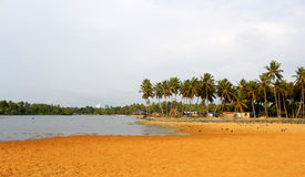 Landscape of veli lake Stock Photography