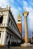 Landscape in Venice stock image