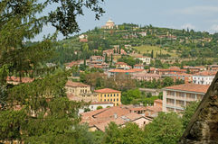 Landscape of a verona hill Royalty Free Stock Photography