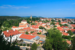 Landscape in Veszpr�m Royalty Free Stock Photos