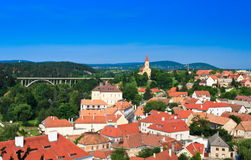 Landscape in Veszprem Stock Photography