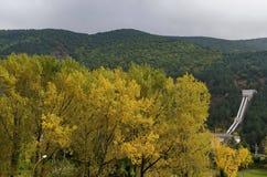 Landscape by VEZ Kokaliane in autumn Royalty Free Stock Photo