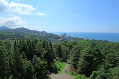 Landscape in vicinities of Sochi Royalty Free Stock Image