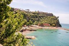 Landscape of  Vico Equense. Landscape of Vico equense in Sorrento`s peninsula, Naples province, Italy Stock Image