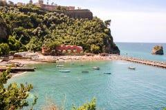 Landscape of  Vico Equense. Landscape of Vico equense in Sorrento`s peninsula, Naples province, Italy Stock Photo