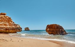Algarve region in Portugal royalty free stock photo