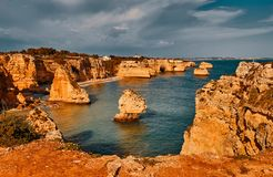 Algarve region in Portugal stock photo