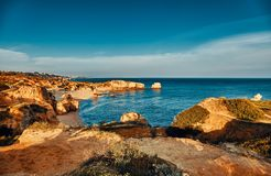 Algarve region in Portugal royalty free stock photography