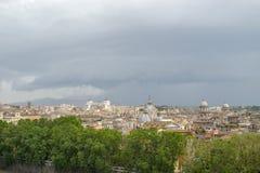 Landscape view of Altare della Patria in Rome Italy. Altare della Patria in Rome Italy stock photography