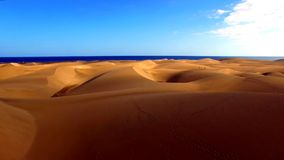 Landscape and view of beautiful Gran Canaria at Canary Islands, Spain stock photography