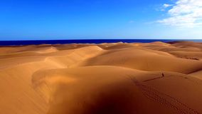 Landscape and view of beautiful Gran Canaria at Canary Islands, Spain royalty free stock images