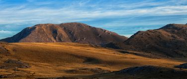 Landscape view of Bistra Mountain Royalty Free Stock Photos