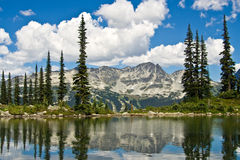Landscape view of Blackcomb Royalty Free Stock Photos