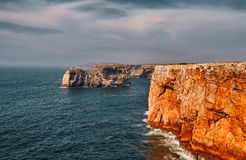 Cape Saint Vincent, Portugal royalty free stock photos