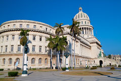 Landscape view of the Capitol building  in Hava Stock Photos
