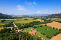 Landscape view of Carinthia during Summer season Royalty Free Stock Photos