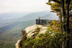Landscape view at cedar mountain overlook Stock Photos