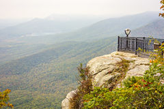 Landscape view at cedar mountain overlook Stock Images