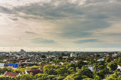 Landscape of view in Chiang Mai province, north of Thailand Royalty Free Stock Photos