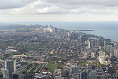 Landscape view of Chicago, USA Stock Photo