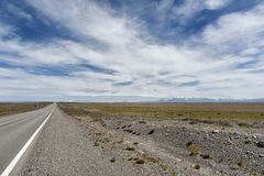 Landscape View in Chilean Patagonia Royalty Free Stock Photography