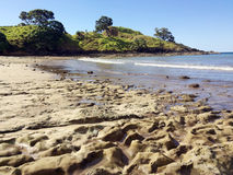 Landscape view of Coopers Beach New Zealand Stock Image