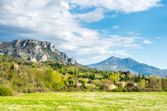 Landscape view of countryside Stock Images