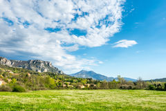 Landscape view of countryside Stock Photos