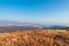 Landscape view at Drakensberg in South Africa Stock Photo
